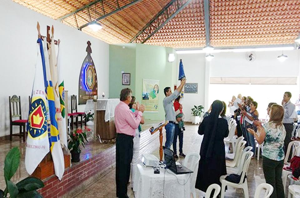 Começam os trabalhos do ano de 2017 no Santuário da Mãe Rainha em Jacarezinho/PR