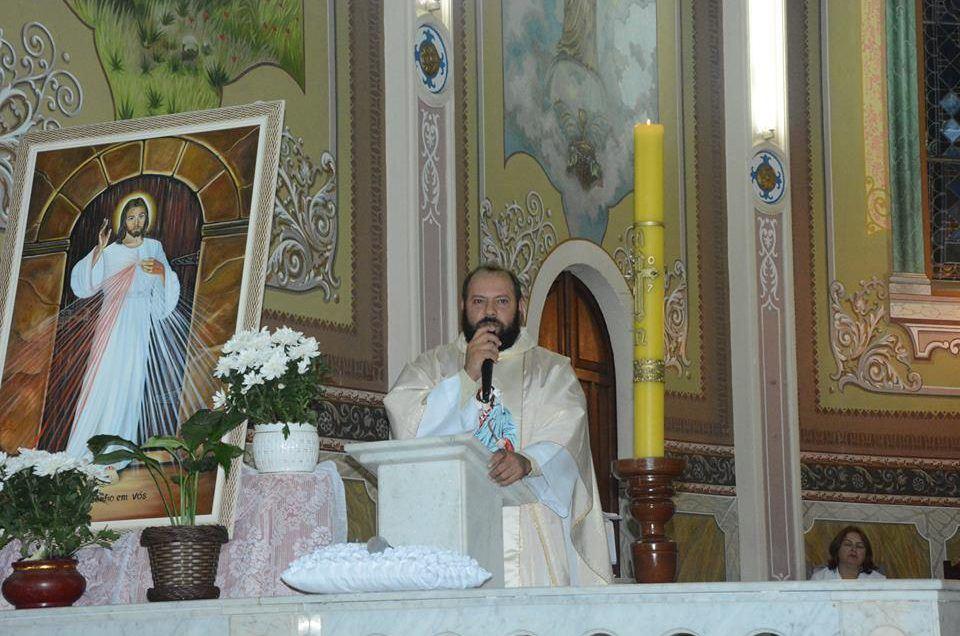 Comemoração do Aniversário do Padre Pedro, Reitor do Santuário em Tomazina