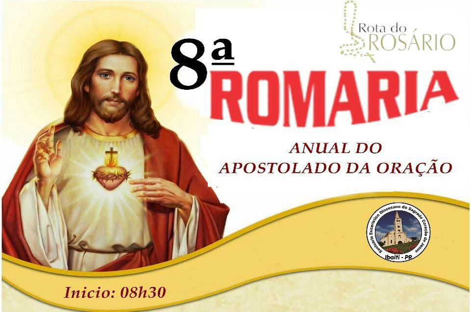 8º Romaria anual do Apostolado da Oração no Santuário Eucarístico