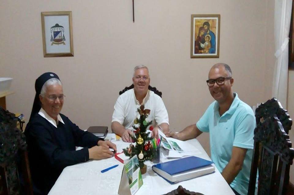 Missa na Capela São Benedito em Jacarezinho