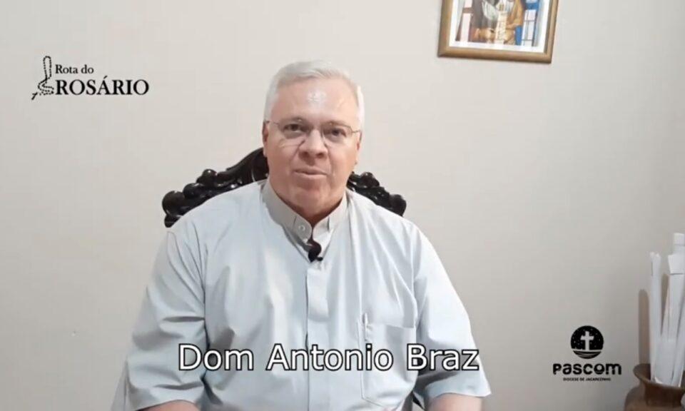 Dom Antonio Braz Benevente Abençoa Todos Os Peregrinos Da Rota Do Rosário