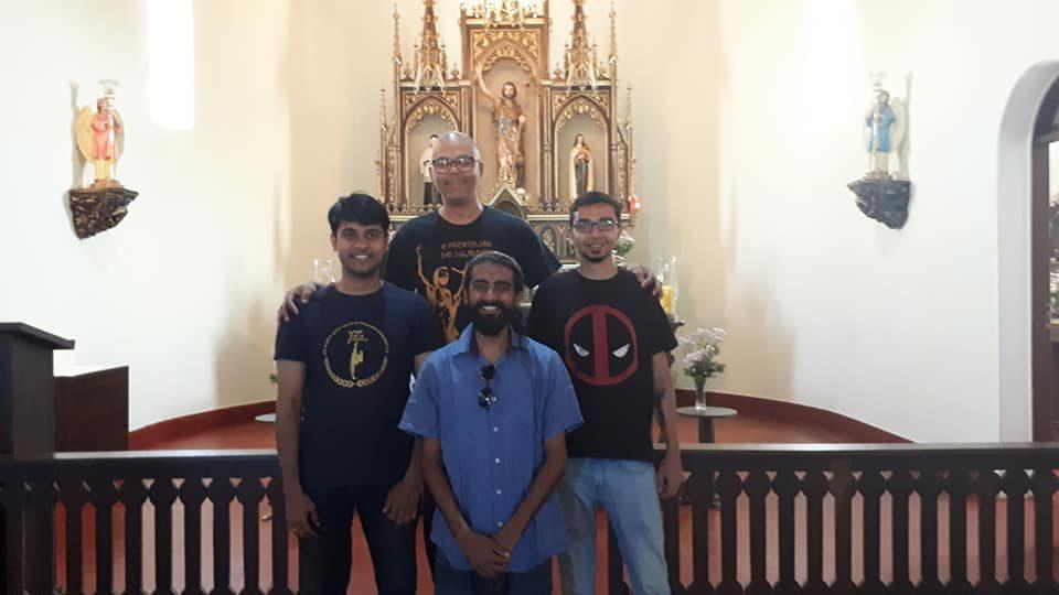 Três Jovens Indianos Visitam Arapoti/PR