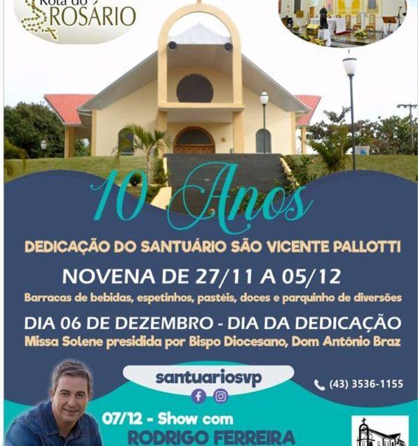 10 Anos Dedicação Santuário São Vicente Palotti