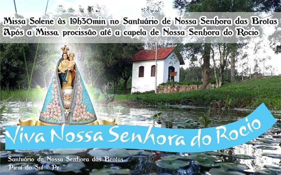 Em Piraí do Sul PR, portal da Rota do Rosário Turismo Religioso no Norte Pioneiro e Campos Gerais Paraná, acontece