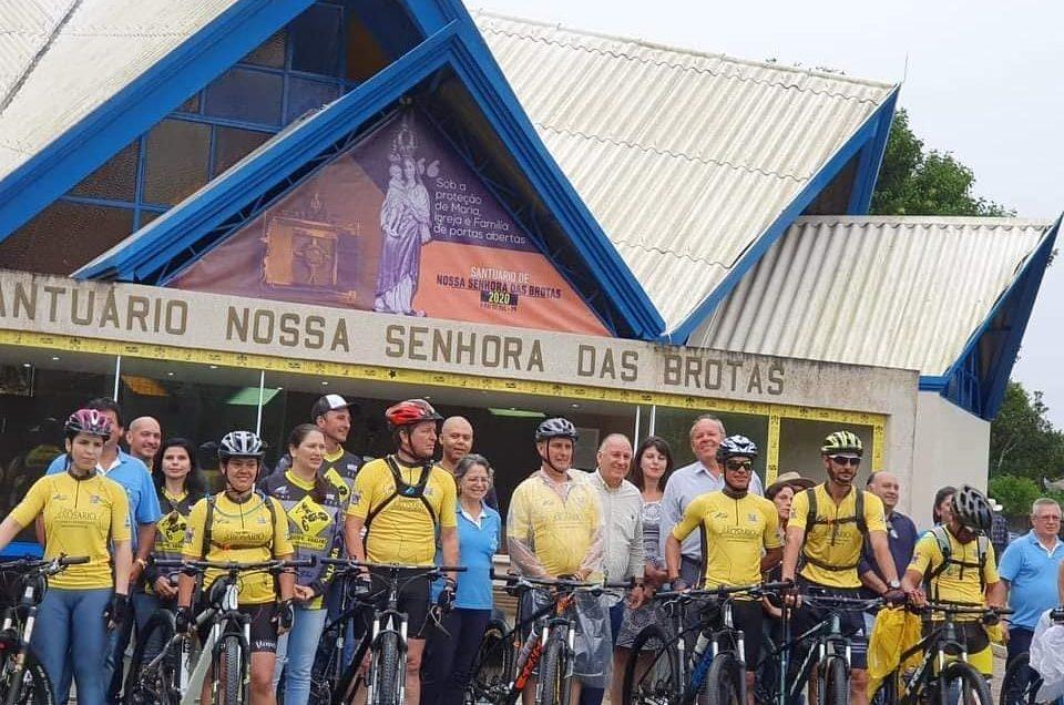 Envio da I Expedição dos Ciclistas na Rota do Rosário