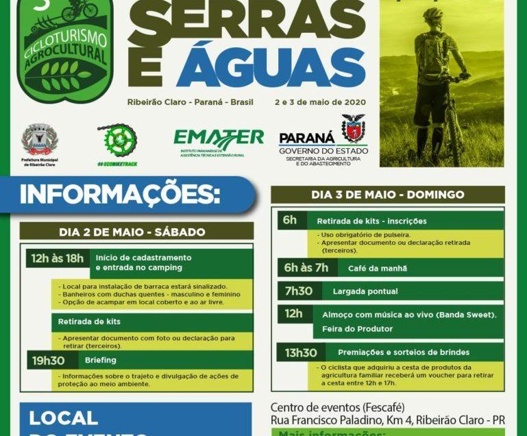3º Cicloturismo Agrocultural em Ribeirão Claro