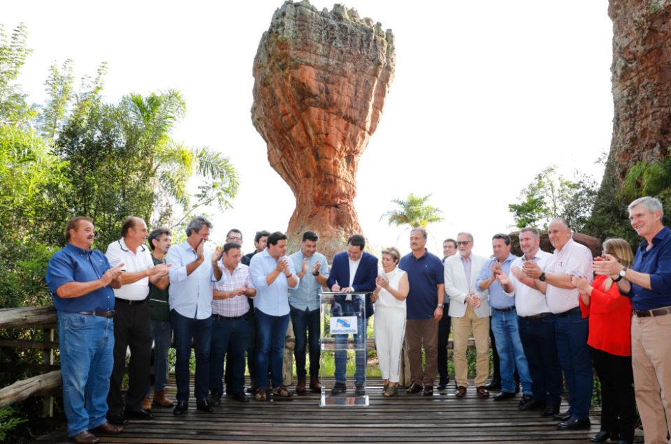 Governo formaliza concessão do Parque Estadual de Vila Velha