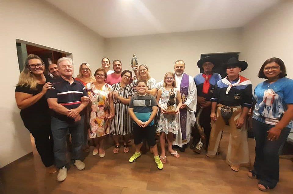 Tropeiros visitam Igrejas, Capelas e Santuários em Santo Antônio da Platina