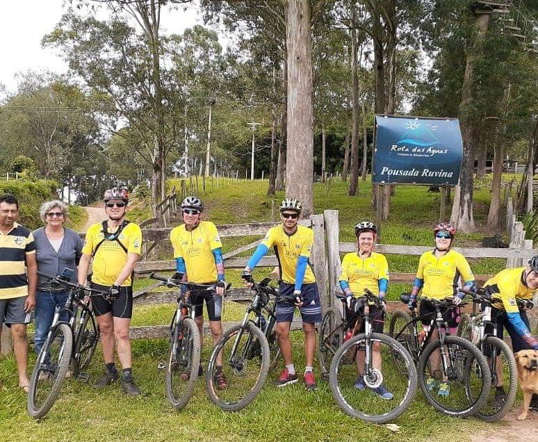 Grupo de Ciclistas de Arapoti percorrem 87,7 Km em Visita aos Santuários