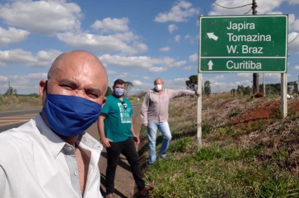 Marcação para a Rota do Rosário Turismo Religioso no Norte Pioneiro e Campos Gerais Paraná