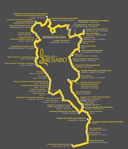 Eis que vem aí, a II Expedição de Ciclismo em janeiro de 2021 pelaRota do Rosário do Paraná