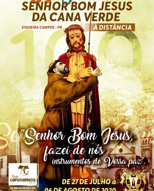 Apresentação Do Cartaz 89ª Festa Do Senhor Bom Jesus Da Cana Verde Siqueira Campos